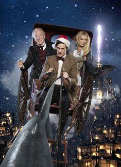 "Doctor Who Series 5 ""A Christmas Carol"" 2010 Christmas Special"