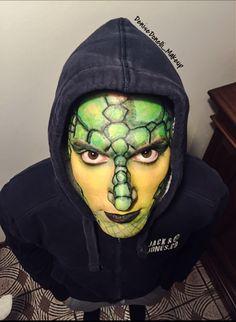 #snakeman #specialeffect #makeup #mua #makeupartist