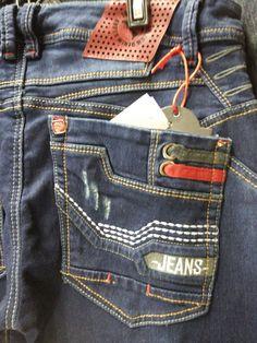 Resultado de imagen para jeans bordados bolsillos