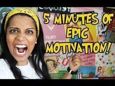 ▶ 5 MINUTES OF EPIC MOTIVATION! - YouTube by SuperWoman Super Motivating and eye opening!!