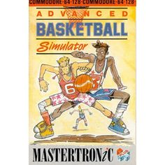 Advanced Basketball Simulator for Commodore 64 from Mastertronic Plus