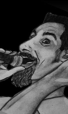 #drawing #illustration #рисунок #desenhando #zeichnung #menggambar #art #rock #man #dibujos #pendrawing #arte #heavymetal #serjtankian Heavy Rock, Heavy Metal, Drawings, Illustration, Instagram, Art, Heavy Metal Music, Sketches, Illustrations