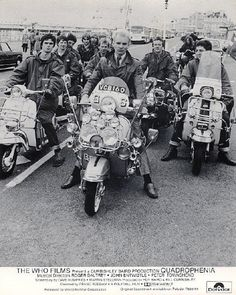 The film 'Quadrophenia' captured the rivalry between the Mods and Rockers.