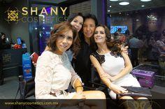 Inauguración de nuestra tienda Shany Cosméticos en Plaza del Sol. Anette Michel. Amaranta Ruiz.