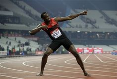 Bolt return from injury upstaged by 28-year WR being broken