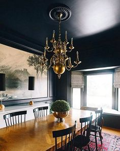 Get the look with Black Blue by Farrow & Ball