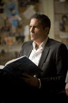 Person of Interest. This show is AWESOME. Great cast, including the mighty fine James Caviezel.
