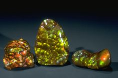 Fire Agate (G10006) from the National Gem Collection