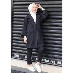 Modest Outfits, Modest Fashion, Casual Outfits, Fashion Outfits, Girl Hijab, Hijab Outfit, Muslim Girls, Muslim Women, Hijab Fashion Inspiration