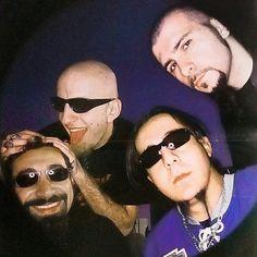 Serj Tankian, Shavo Odadjian, Daron Malakian y John Dolmayan