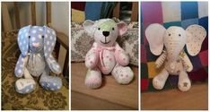 memory bear pattern free - Google Search