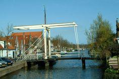 Canal bridge, Edam,