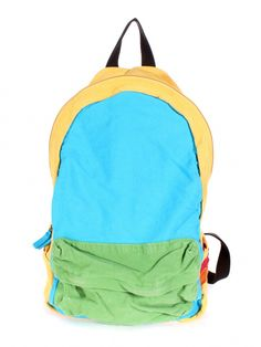 Yellow Colorblock Backpack- for nash?