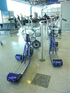 Well, now... I think they're just asking for trouble! ;)  Helsinki Airport
