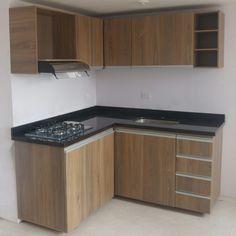 Small Kitchen Cabinet Design, Kitchen Cupboard Designs, Kitchen Room Design, Modern Kitchen Design, Kitchen Layout, Home Decor Kitchen, Interior Design Kitchen, Home Kitchens, Home Office Furniture Design