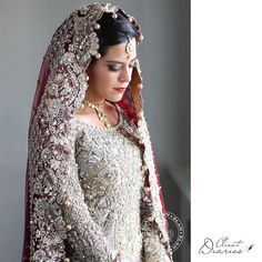 Zahra Ali made a stunning bride in a bridal from Jasmine Court. Here's a closeup…