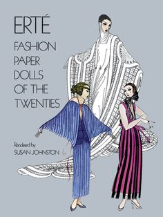 Erté Fashion Paper Dolls of the Twenties