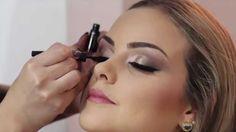Maquiagem passo a passo em modelo by Juliana Balduino