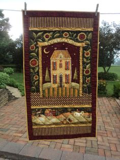 Welcome Wall Hanging by WendysWonders127 on Etsy, $27.00