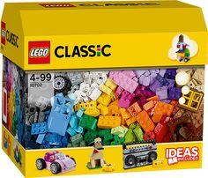 LEGO 10702 kreativt byggesett LEGO konstruksjonssett: LEGO JUNIORS kreativt byggesett (10702)Bruk fantasien, og skap nye mesterverk med denne inspirerende esken med LEGO Classic klosser. Bruk de vedlagte instruksjonene, og last ned enda flere på nett for å komme i gang!