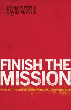 This is no ordinary missions book. The theme isn't new, but the approach is refreshing and compelling, as contributors David Platt, Louie Giglio, Michael Ramsden, Ed Stetzer, Michael Oh, David Mathis, and John Piper take up the mantle of the Great Commission and its Spirit-powered completion.  From astronomy to exegesis, from apologetics to the Global South, from being missional at home to employing our resources in the global cause, Finish the Mission aims to breathe fresh missionary fir...