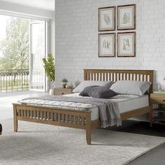 Home Loft Concept Marina Bed Frame U0026 Reviews   Wayfair.co.uk