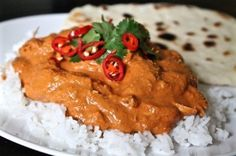 Slow cooker coconut curry chicken? yes please!   Max and I enjoyed this curry for dinner tonight (Zach will have his milkified taste a little later on!). It's one of our favourites; we first had it at my sister's house in Canada. We were visiting…