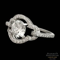 Gumuchian Platinum engagement ring by Gumuchian from Pearlman's Jewelers