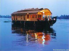 Log Home boat  Cool!!   I want one :)