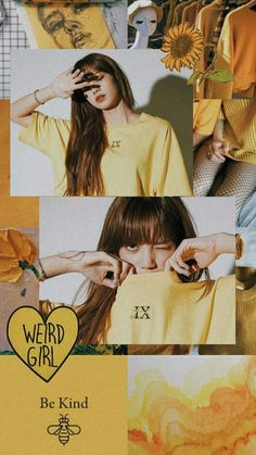 Lisa in yellow Kpop Aesthetic, Pink Aesthetic, Aesthetic Pastel Wallpaper, Aesthetic Wallpapers, Lisa Blackpink Wallpaper, Dark Wallpaper, Blackpink Video, Bts Video, Montage Photo