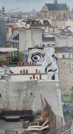 Jef Aerosol street art Paris