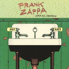 "Frank Zappa, ""Waka/Jawaka"" | #progrock"