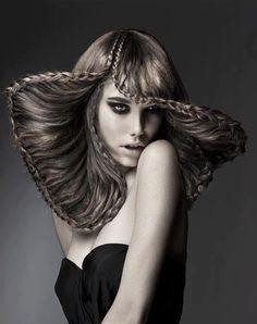 Structured. #hairart