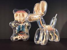 Balloon Animals Revealing Anatomical Details – Fubiz Media