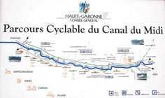 Parcours cyclable du Canal du midi – de Toulouse à Naurouze Toulouse, Circuit Velo, Canal Du Midi, Destination Voyage, Pyrenees, South Of France, Bike Life, Cool Places To Visit, Cycling