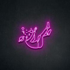 Wallpaper Iphone Neon, Pink Wallpaper, Aesthetic Iphone Wallpaper, Neon Signs Quotes, Led Neon Signs, Neon Sign Art, Custom Made Neon Signs, Neon Rose, Neon Words