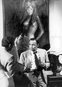 """Frank Sinatra during the filming of """"Lady in Cement"""" by Terry O'Neil"""