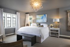 COTE DE TEXAS: AN UPDATE: AIDAN GRAY WITH AN EDGE #AGWITHANEDGE Exterior Design, Interior And Exterior, Texas Coast, Roman Shades, Candle Sconces, Window Treatments, Houston, Bedroom Ideas, Master Bedroom