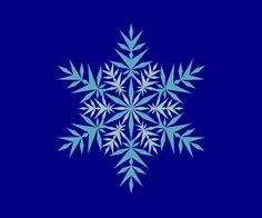 Pointy Snowflake Icy Frozen Ice Embroidery Machine Design 10 SIZES by OCDEmbroidery on Etsy
