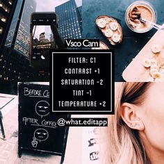 #weafree ❕ bright & clear filter that works on anything with good lightingcomment any filters you like❣x
