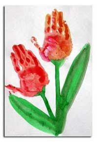 Skapligt Enkelt: Hand-tulpan