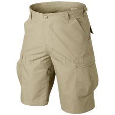 Helikon Genuine BDU Shorts Cotton Ripstop Khaki