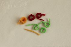how to make felted beads from yarn scraps