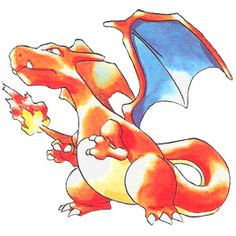 Pokemon Red and Blue Charizard