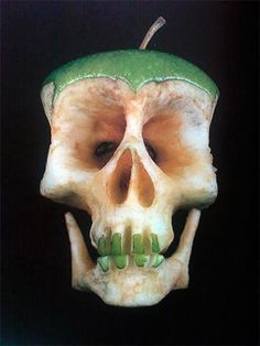 Macabre Apple art