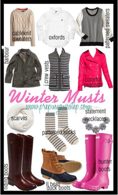 My Winter Must Haves