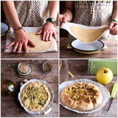La tourte la plus simple du monde… (Végétarien, IG moyen) Batch Cooking, Healthy Cooking, Healthy Treats, Healthy Recipes, What To Cook, Food Inspiration, Food Porn, Veggies, Food And Drink