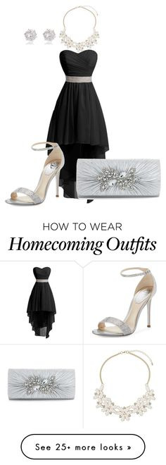 """""""A night out"""" by hannahgb0207 on Polyvore featuring René Caovilla, Dorothy Perkins and River Island"""