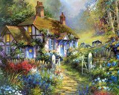 4660e1f145203fbbdd2bba0e0985392b--house-gardens-cottage-gardens.jpg (736×588)