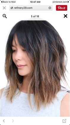 hair color ideas medium length collections